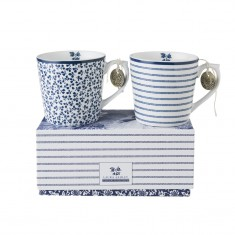 Κούπα Laura Ashley Σετ 2τμχ. Fine Bone China 220ml
