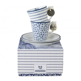 Φλίτζάνι Espresso Laura Ashley Σετ 2τμχ. Fine Bone China