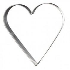 Κουπ-Πατ Μεταλλικό Καρδιά 4cm Fisko