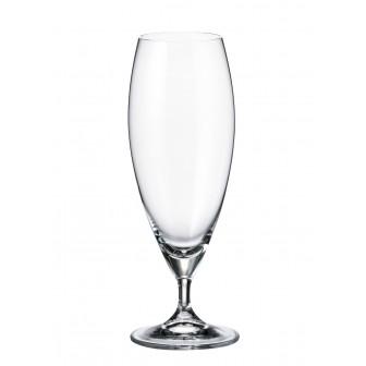 Ποτήρι Μπύρας Carduelis Σετ 6Τμχ Κρυστάλλινο 380ml Bohemia