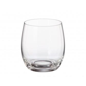 Ποτήρι Ουίσκι Mergus Σετ 6Τμχ Κρυστάλλινο 410ml Bohemia