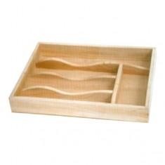 Κουταλοθήκη Bamboo 5 Θέσεων Για Το Συρτάρι