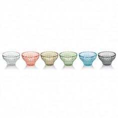 Μπολ Παγωτού Tiffany Σετ 6τμχ 510ml Χρωματιστά Guzzini