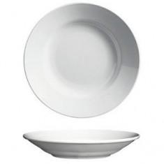 Πιάτο Βαθύ Πορσελάνης Λευκό 23cm