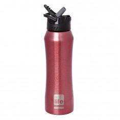Θερμός Eco Life Μεταλλικό Ανοξείδωτο Red Thermos 550ml