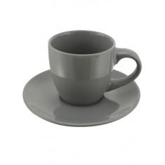 Φλυτζάνι Espresso Γκρι 100cc Happy Ware