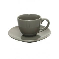 Φλυτζάνι Capuccino Σκούρο Καφέ 220cc Happy Ware