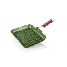 Γκριλιέρα Dr. Green Χυτού Αλουμινίου 36cm Risoli
