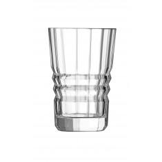 Ποτήρι Σωλήνας Κρυστάλλινο Crystal D'Srques 360ml Σετ 6 Τμχ Architecte