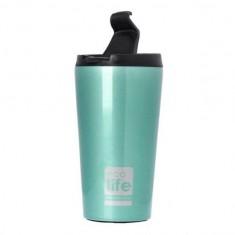 Θερμός Ποτήρι Eco Life Ανοξείδωτο Light Blue 370ml