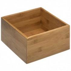 Κουτί Οργάνωσης Bamboo Ορθογώνιο Natural