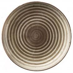 Πιάτο Στρογγυλή Πορσελάνης Avanos Terra 30cm Gural