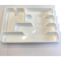 Κουταλοθήκη Πλαστική 6θέσεων Για Συρτάρι 40cmx30cm