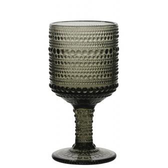 Ποτήρι Νερού-Κρασιού Σετ 6τμχ. Drops 215ml Grey