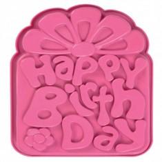 Φόρμα Σιλικόνης Happy Birthday Pavoni