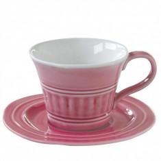 Φλυτζάντ Τσαγίου Κεραμικό Abitare Pink R2S