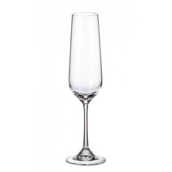 Ποτήρι Σαμπάνιας Strix Κρυστάλλινο Σετ 6 Τμχ 200ml Bohemia