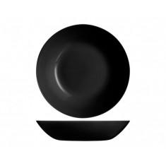 Πιάτο Βαθύ Diwali 20cm Luminarc Μαύρο