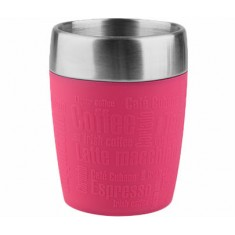 Ποτήρι Θερμός Ανοξείδωτο Σιλικόνης Tefal TF Pink 200ml.