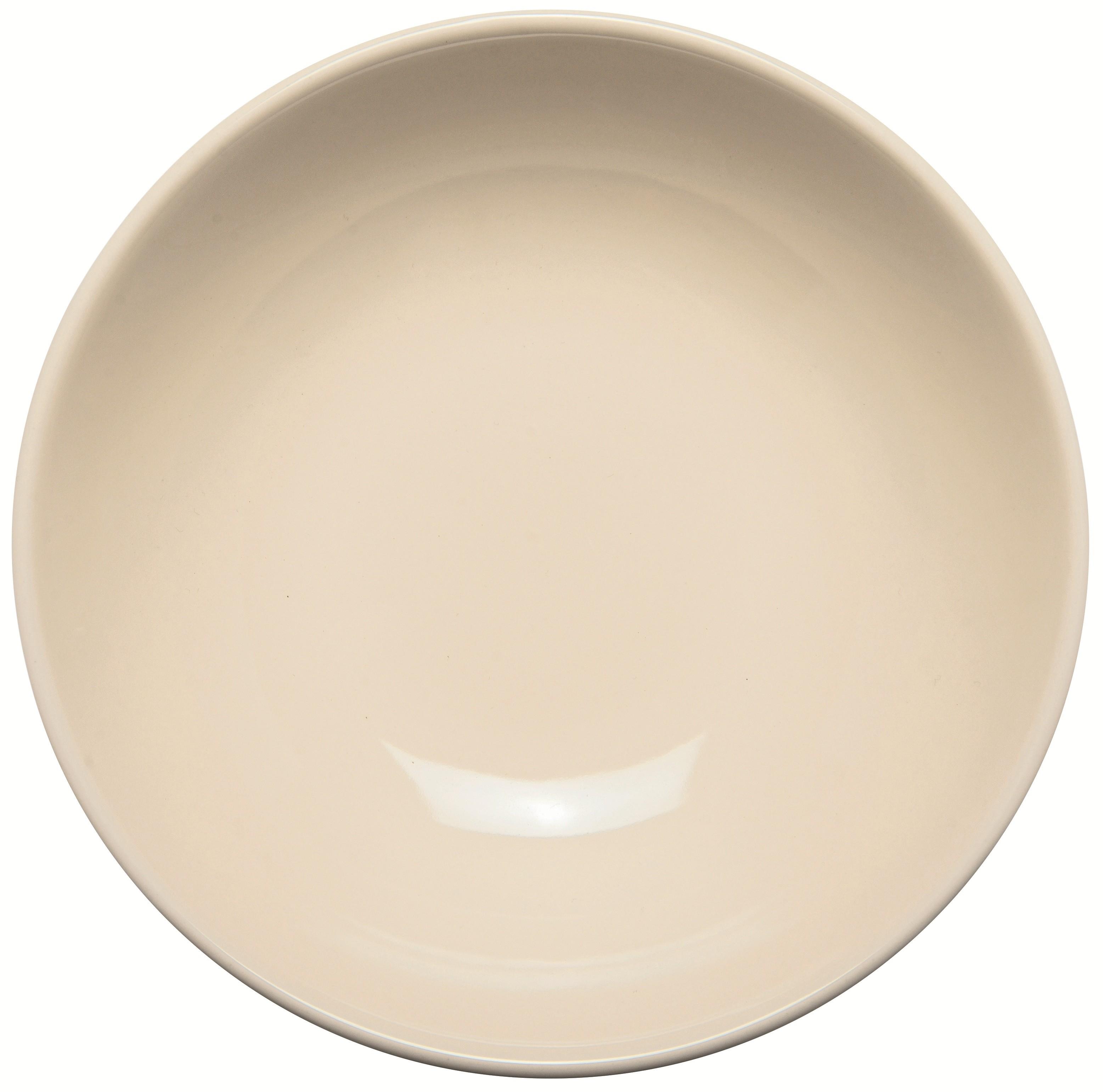 Πιάτο Βαθύ 22cm Κεραμικό Μπεζ Happy Ware Alfa