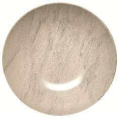Πιάτο Βαθύ 22cm Κεραμικό Marble Happy Ware