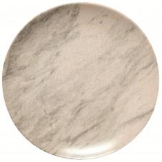 Πιάτο Ρηχό 27cm Κεραμικό Marble Happy Ware