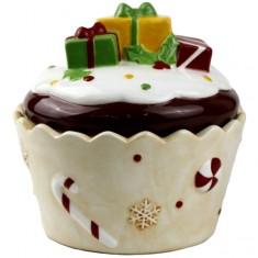 Μπισκοτιέρα Κεραμική Cupcake Δώρα Μεγάλη