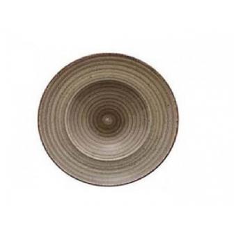 Πιάτο Σπαγγέτι Πορσελάνης Avanos Terra 26cm Gural
