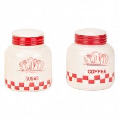 Δοχεία Σετ Καφέ-Ζάχαρη Κεραμικά Ivouar Beige