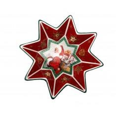 Μπολ Πορσελάνης Αστέρι Άγιος Βασίλης Μικρό