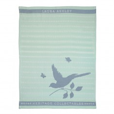 Πετσέτα Κουζίνας Laura Ashley Mint Bird 50X70 Heritage
