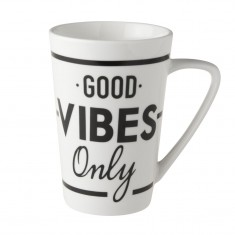 Κούπα Dutch Rose Good Vibes Only XL 430ml