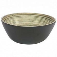 Μπολ Bamboo Natural Black 26cm Marva Home