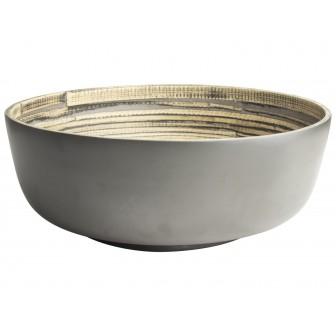 Μπολ Bamboo Grey 30cm Gusta