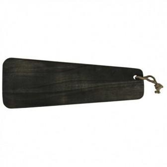 Πλατό Σερβιρίσματος Ορθογώνιο Black Acakia 59cm