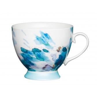 Κούπα Πορσελάνης Painted Floral 400ml Kitchencraft