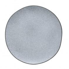 Πιάτο Ρηχό Πορσελάνης Iron Granite Μπεζ 26cm