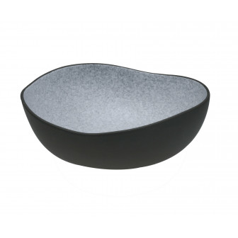 Πιάτο Βαθύ Πορσελάνης Iron Granite Μπεζ 26cm