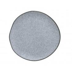 Πιάτο Φρούτου Πορσελάνης Iron Granite Μπεζ 18cm