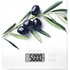 Ζυγαριά Κουζίνας Ψηφιακή 5kg Ks 210 Olive Medisana