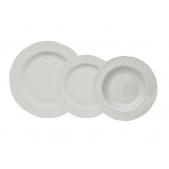 Σερβίτσιο Φαγητού Flora 18τμχ. Gural Porselen