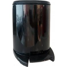 Πεντάλ Πλαστικό 56it Στρογγυλό Cigo Black Soft Close