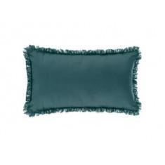 Μαξιλάρι Διακοσμητικό Υφασμάτινο Με Κρόσι Μπλε 30Χ50