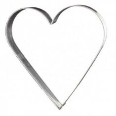 Κουπ-Πατ Μεταλλικό Καρδιά 7.5cm Kitchencraft