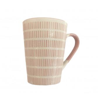 Κούπα Κωνική Πορσελάνης Ροζ 280ml