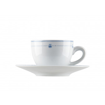 Φλυτζάνι & Πιάτο Καφέ Elektra Σετ 6τμχ Ionia