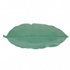 Πιατέλα Πορσελάνης Leaves Πράσινη R2S 47cm