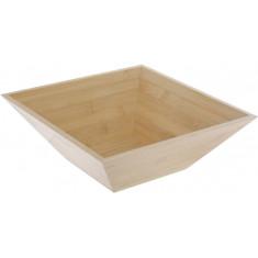 Μπολ Ξύλινο Bamboo Τετράγωνο 28cm 5Five