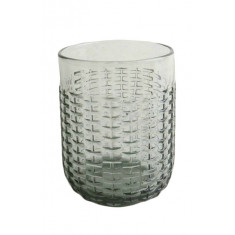 Ποτήρι Νερού-Αναψυκτικού Rattan Grey 350ml Marva Home