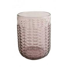 Ποτήρι Νερού-Αναψυκτικού Rattan Purple 350ml Marva Home